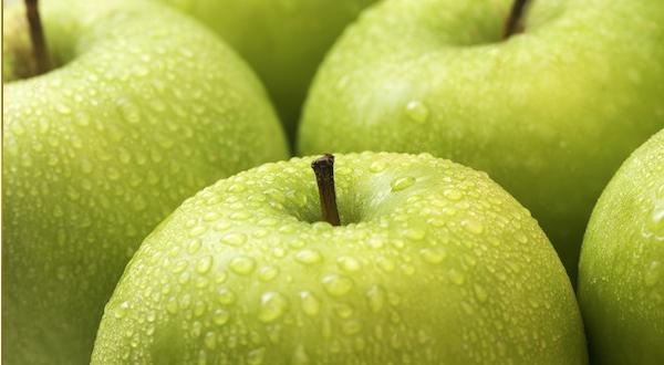 Manzana laxante