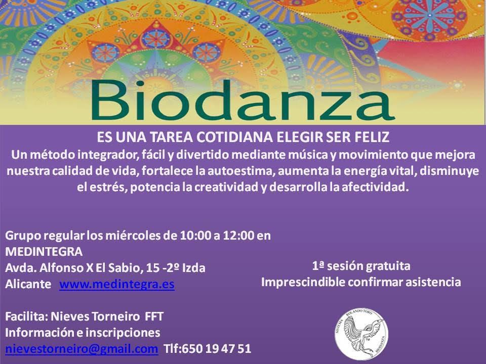 Biodanza Alicante