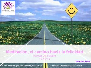 Taller Meditación,el camino hacia la felicidad @ Medintegra | San Vicente del Raspeig | Comunidad Valenciana | España