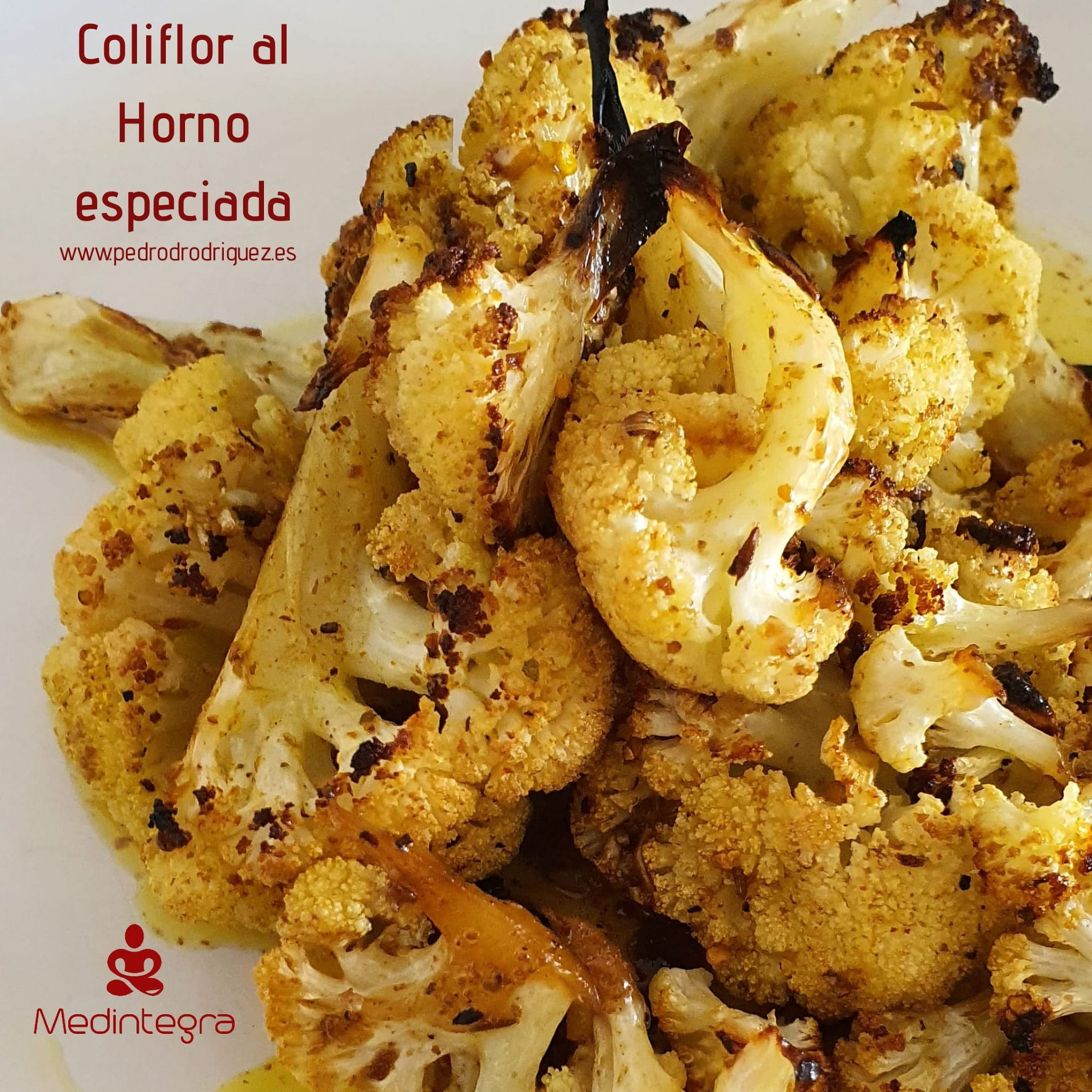 receta de coliflor al horno